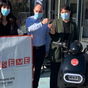 remise clefs scooter miniconi inseme tombola