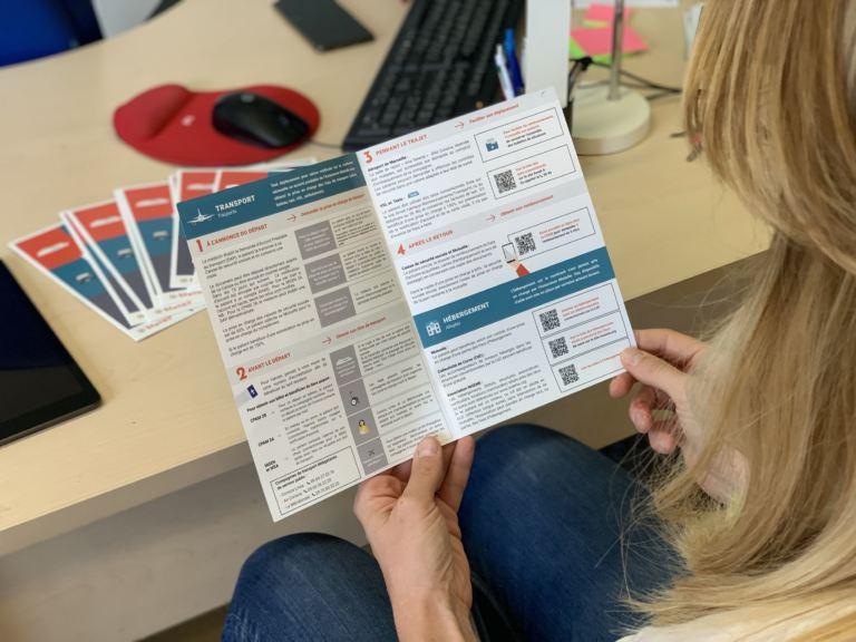brochure info DMC déplacement médical téléchargement